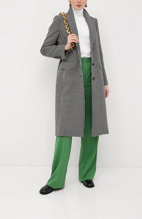 Женские шерстяные брюки ESCADA зеленого цвета, арт. 5033539 | Фото 2