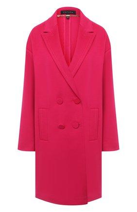 Женское шерстяное пальто ESCADA фуксия цвета, арт. 5033513 | Фото 1