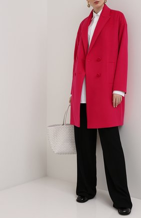 Женское шерстяное пальто ESCADA фуксия цвета, арт. 5033513 | Фото 2