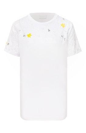 Женская футболка ESCADA SPORT черно-белого цвета, арт. 5033331 | Фото 1