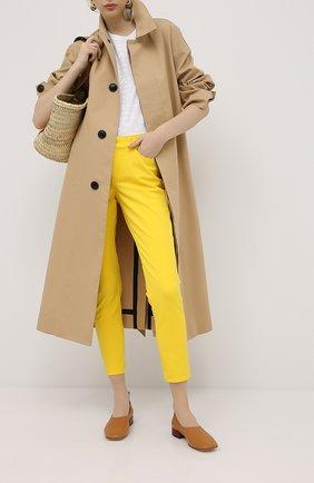 Женские джинсы ESCADA SPORT желтого цвета, арт. 5032901 | Фото 2