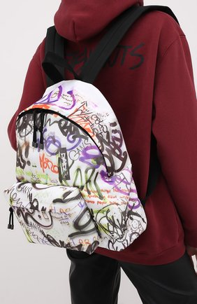 Женский текстильный рюкзак VETEMENTS разноцветного цвета, арт. UAH21BA252 1301/W | Фото 2