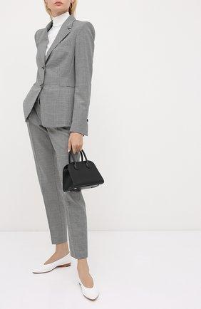 Женский шерстяной жакет WINDSOR черно-белого цвета, арт. 52 DSE406V 10009429 | Фото 2