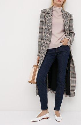 Женский кашемировый пуловер WINDSOR бежевого цвета, арт. 52 DP454 10000805 | Фото 2