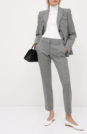 Женские шерстяные брюки WINDSOR черно-белого цвета, арт. 52 DHE406 10009429 | Фото 2