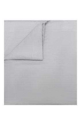 Мужского хлопковое покрывало FRETTE серого цвета, арт. FR6664 F1100 270A | Фото 1