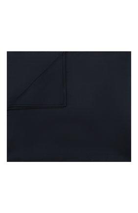 Мужского хлопковое покрывало FRETTE темно-синего цвета, арт. FR6664 F1100 270A | Фото 1