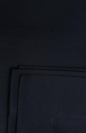 Мужского хлопковое покрывало FRETTE темно-синего цвета, арт. FR6664 F1100 270A | Фото 2