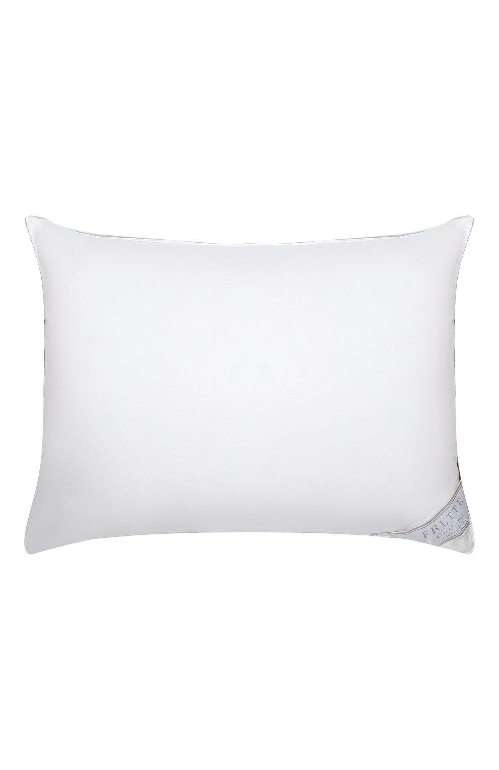 Мужского пуховая подушка FRETTE белого цвета, арт. F0A184 F6000 051C | Фото 1