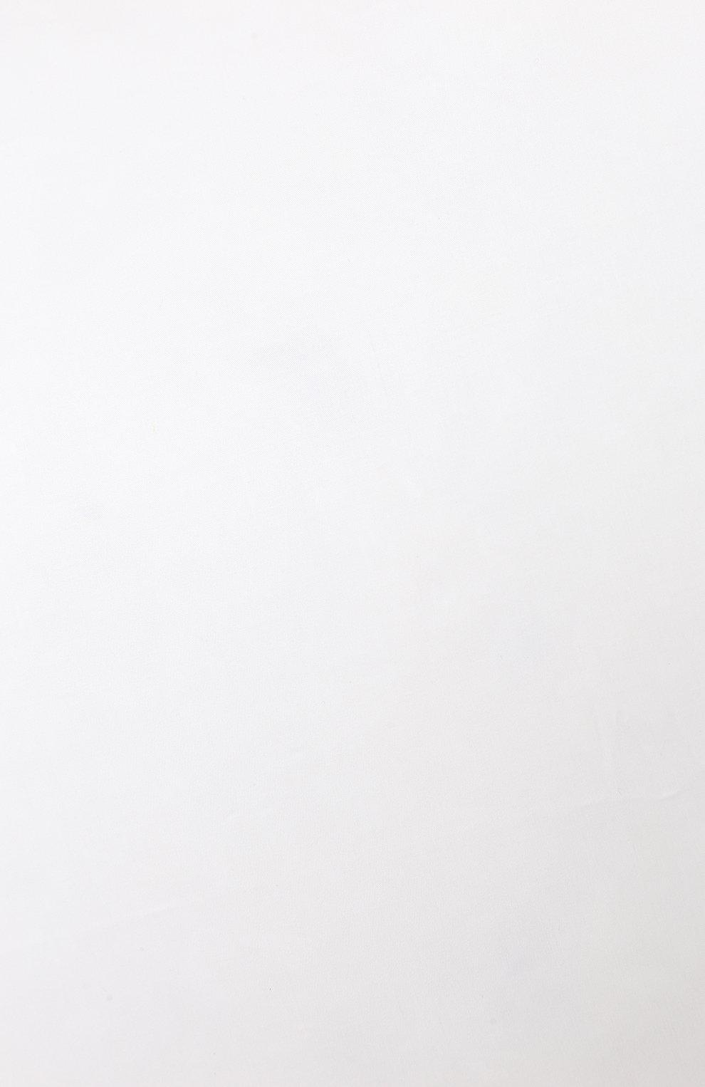 Мужского пуховая подушка FRETTE белого цвета, арт. F0A184 F6000 051C | Фото 3