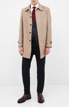 Мужские кожаные сапоги W.GIBBS темно-коричневого цвета, арт. 0128020/2303   Фото 2