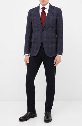 Мужские кожаные челси W.GIBBS черного цвета, арт. 0220007/2302 | Фото 2