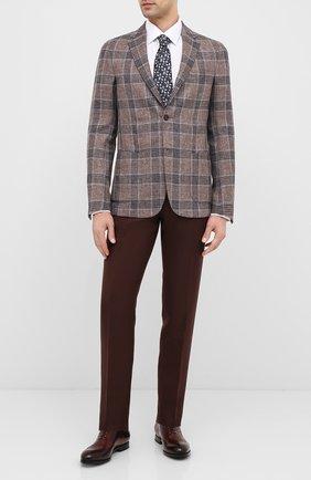 Мужские кожаные оксфорды W.GIBBS коричневого цвета, арт. 2552059/0216 | Фото 2