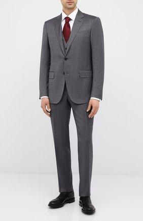 Мужские кожаные оксфорды W.GIBBS черного цвета, арт. 3169010/0214 | Фото 2