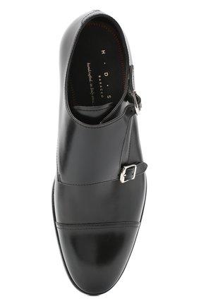Мужские кожаные монки H`D`S`N BARACCO черного цвета, арт. 59214.5G* | Фото 5