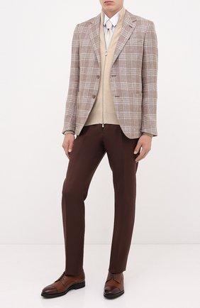 Мужской кожаные дерби H`D`S`N BARACCO коричневого цвета, арт. 80213.0* | Фото 2