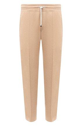 Мужской хлопковые брюки BRUNELLO CUCINELLI бежевого цвета, арт. M0T313212G | Фото 1