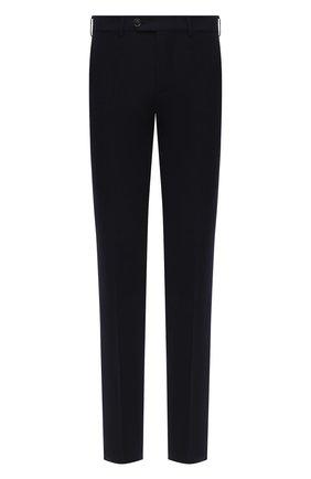 Мужской шерстяные брюки BRUNELLO CUCINELLI темно-синего цвета, арт. ME231B1770 | Фото 1