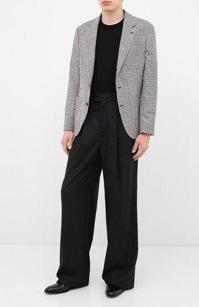 Мужской шерстяной пиджак BRUNELLO CUCINELLI черно-белого цвета, арт. MN4837BND | Фото 2