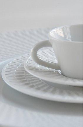 Кофейная чашка с блюдцем twist BERNARDAUD белого цвета, арт. 1836/79 | Фото 2