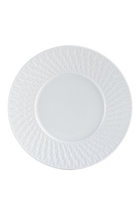 Тарелка для хлеба и масла twist blanc BERNARDAUD белого цвета, арт. 1836/3 | Фото 1