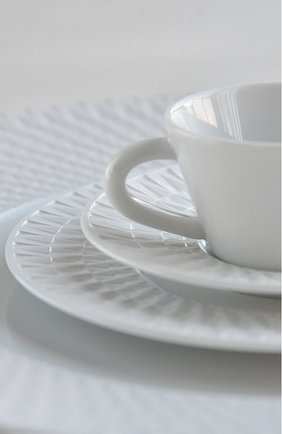 Мужского тарелка для хлеба и масла twist blanc BERNARDAUD белого цвета, арт. 1836/3 | Фото 2