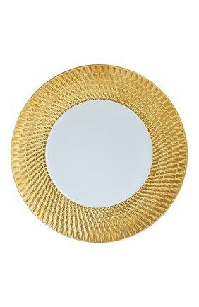 Мужского обеденная тарелка twist or BERNARDAUD золотого цвета, арт. 1849/21259   Фото 1