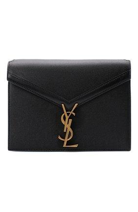 Женская сумка cassandra medium SAINT LAURENT черного цвета, арт. 532750/B0W0W   Фото 1