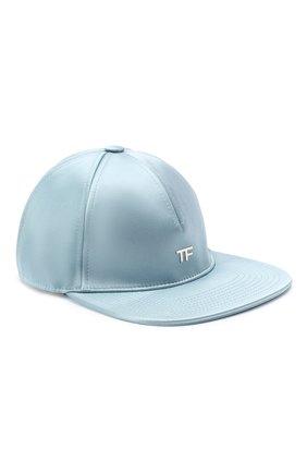 Женская бейсболка TOM FORD голубого цвета, арт. WH003P-TSA006 | Фото 1