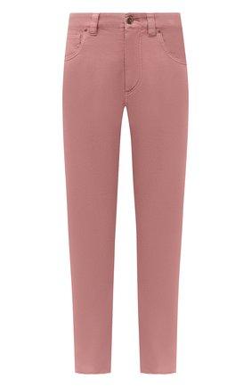 Женские джинсы BRUNELLO CUCINELLI розового цвета, арт. MPH43P5524 | Фото 1