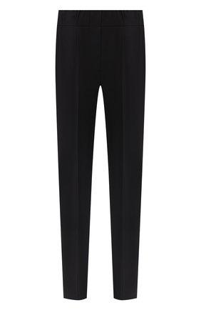 Женские шерстяные брюки BRUNELLO CUCINELLI черного цвета, арт. MPW07P6818 | Фото 1