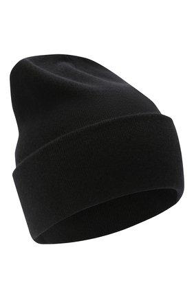 Женская кашемировая шапка BRUNELLO CUCINELLI черного цвета, арт. M12171699P | Фото 1