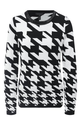 Женский шерстяной пуловер ESCADA черного цвета, арт. 5033419 | Фото 1