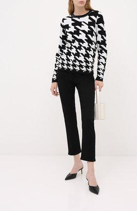 Женский шерстяной пуловер ESCADA черного цвета, арт. 5033419 | Фото 2