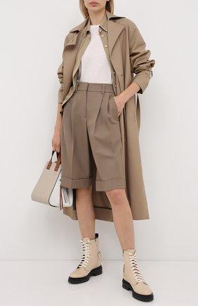 Женская шерстяной пуловер ESCADA SPORT белого цвета, арт. 5033304 | Фото 2