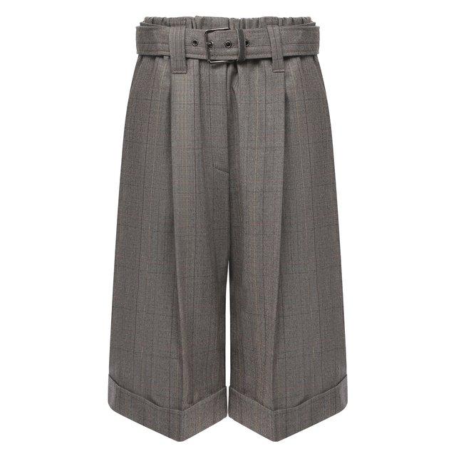 Шерстяные шорты Brunello Cucinelli