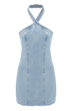 Женское джинсовое платье GRLFRND голубого цвета, арт. GF43828821356 | Фото 1