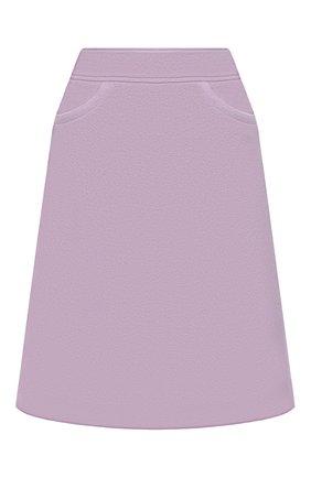 Женская шерстяная юбка WINDSOR фиолетового цвета, арт. 52 DR407 10005463 | Фото 1