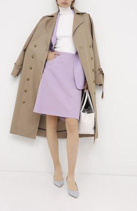 Женская шерстяная юбка WINDSOR фиолетового цвета, арт. 52 DR407 10005463 | Фото 2