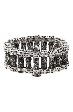 Женский браслет ездить чтобы жить GL JEWELRY серебряного цвета, арт. PB170 | Фото 2