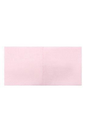 Детская шерстяная повязка CATYA розового цвета, арт. 024814/G | Фото 2