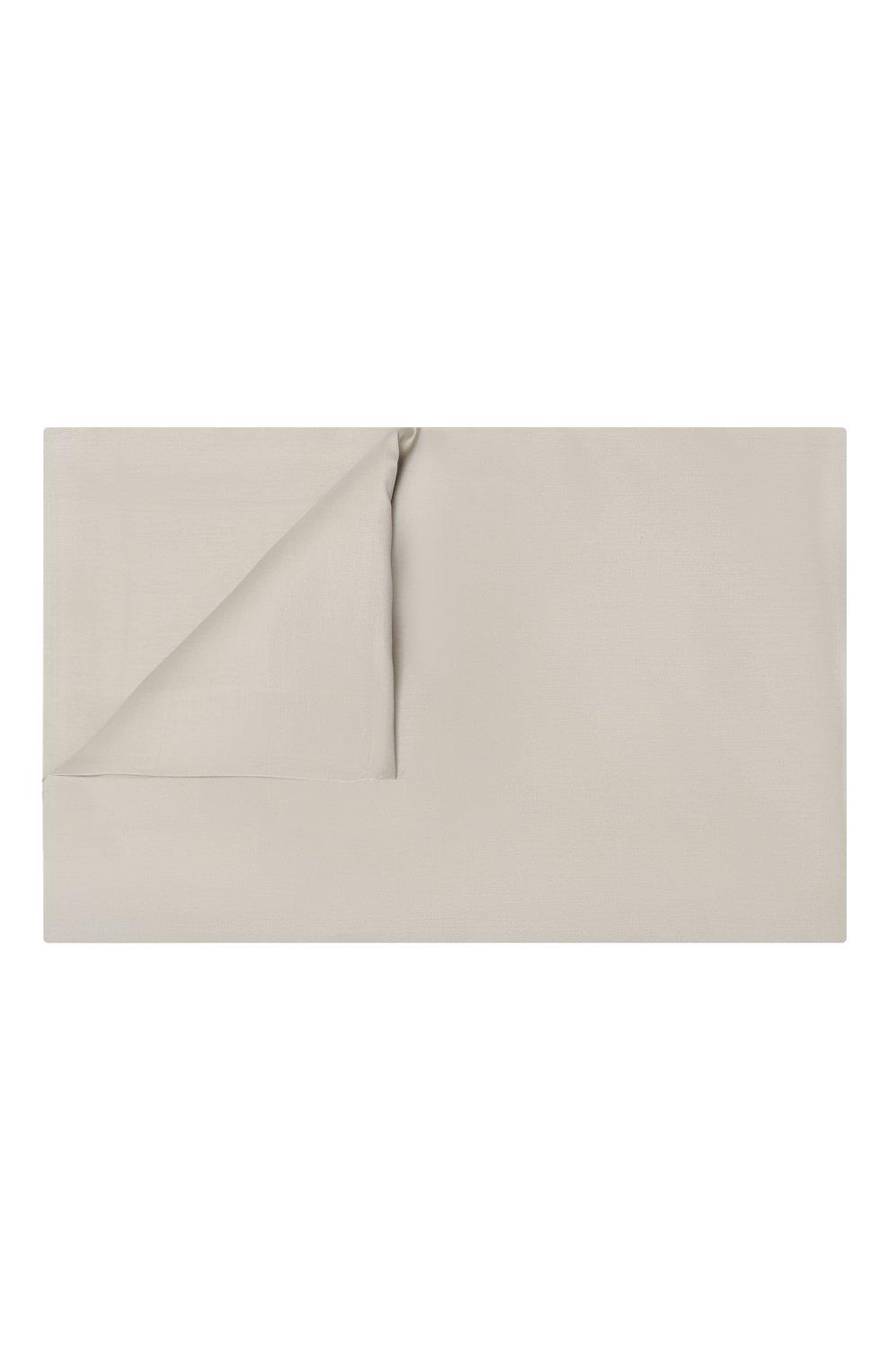 Мужского хлопковая простынь FRETTE светло-бежевого цвета, арт. FR0000 E0400 270I   Фото 1