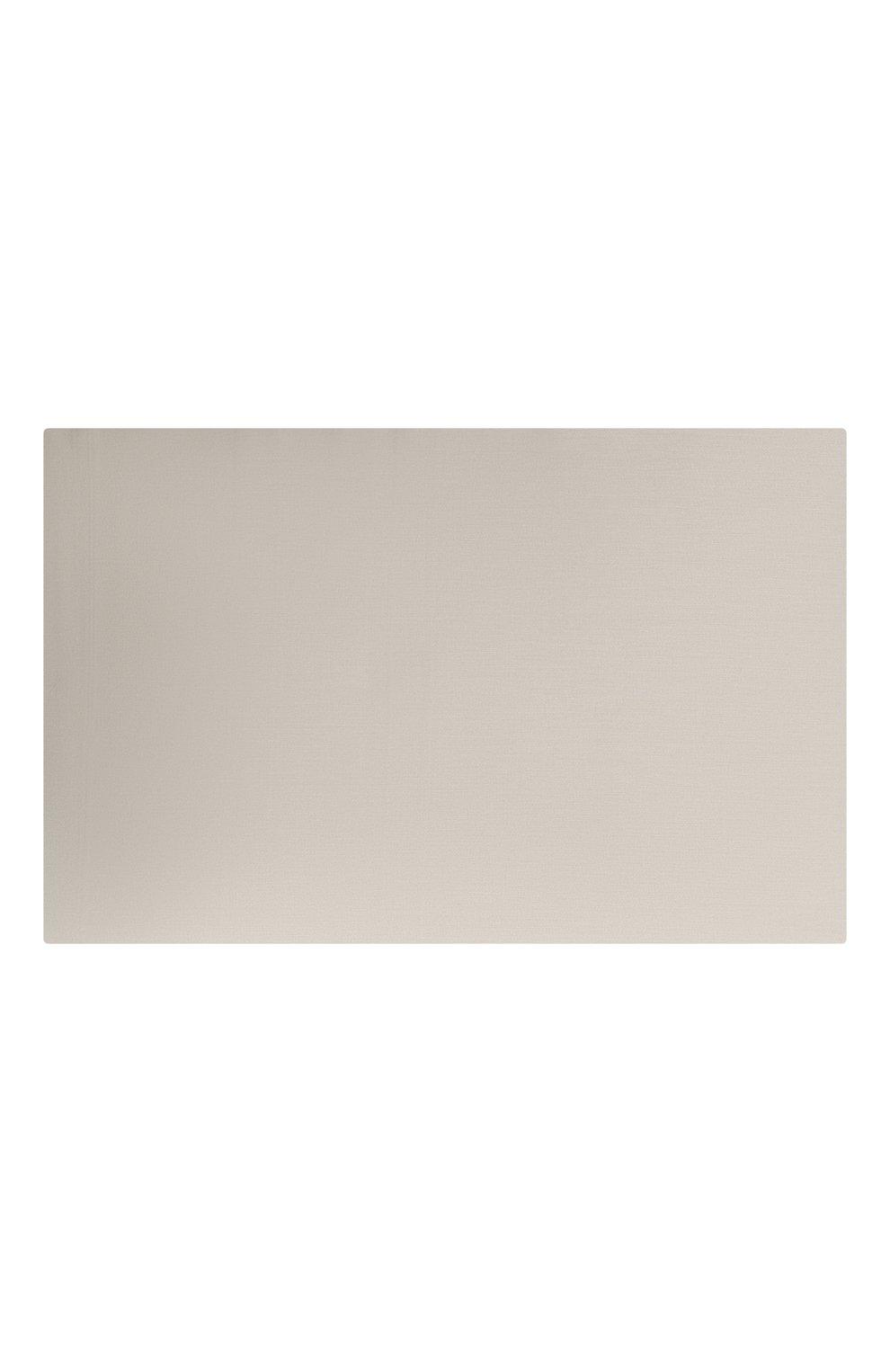 Мужского хлопковая простынь FRETTE светло-бежевого цвета, арт. FR0000 E0400 270I   Фото 2