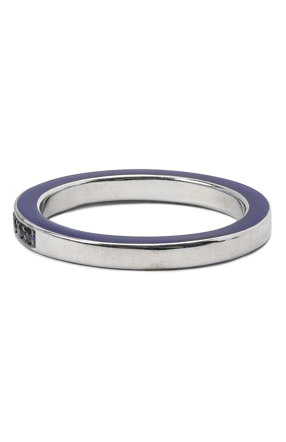 Женское кольцо JEWLIA синего цвета, арт. 0103.JR-55с | Фото 2 (Материал: Золото)