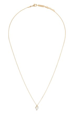 Женская кулон на цепочке HANKA_IN золотого цвета, арт. B0UN-C037-PEB | Фото 1 (Материал: Металл)