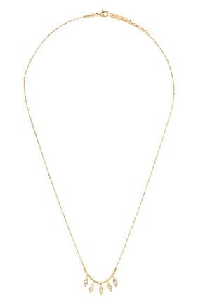 Женское колье HANKA_IN золотого цвета, арт. STA5-C0-NAV | Фото 1 (Материал: Металл)