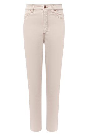 Женские джинсы BRUNELLO CUCINELLI бежевого цвета, арт. MPH43P5574 | Фото 1