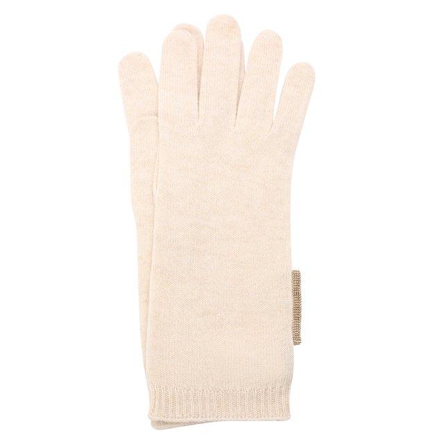 Кашемировые перчатки Brunello Cucinelli