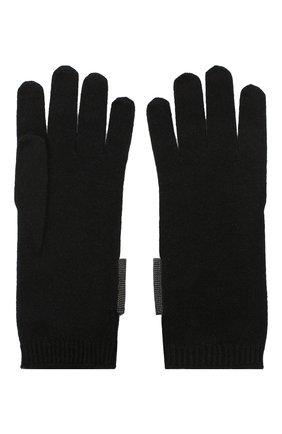 Женские кашемировые перчатки BRUNELLO CUCINELLI черного цвета, арт. M12171679P | Фото 2