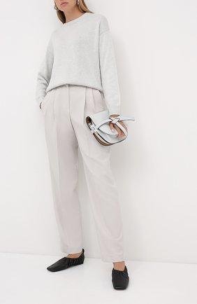 Пуловер из кашемира и шелка | Фото №2